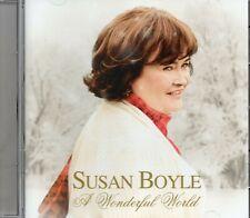 Susan Boyle - A Wonderful World (2016 CD) Feat. Michael Bolton & Nat King Cole