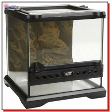 Best Glass Terrarium Habitat Reptile Tank Cage Lizard Snake Amphibian Frog