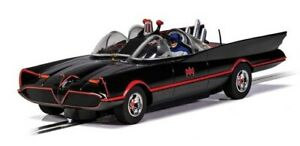SCALEXTRIC '''THE BATMOBILE'IS BACK - STRAIGHT FROM TV TO YOU - NEW STOCK