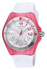 Auth Bnew Technomarine Original Cruise White and Pink 115225 #COD