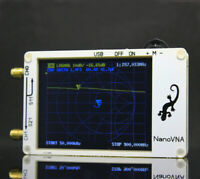 NanoVNA VNA HF VHF UHF UV Vector Network Analyzer Antenna Analyzer With Battery