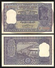 INDIA - Old 100 Rupees Note - 1960's - P45 - Nice XF