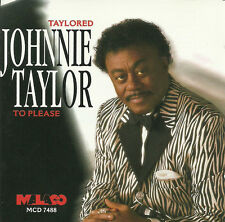 Johnnie Taylor - Taylored To Please - New factory Sealed CD