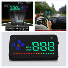 GPS HUD Digital Universal Head Up Display Car Truck Speedometer Speed Warning HT
