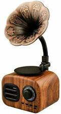 Vintage Retro Speaker Gramophone Bluetooth Record Player Turnable Radio Stereo