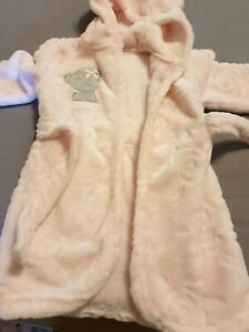 Baby Girl Tatty Teddy Dressing Gown 9/12 Months NWOT