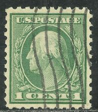 U.S. Postage Stamp scott 462 - 1 cent Washington issue of 1916