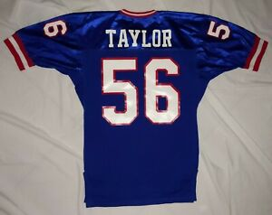 Vintage Pro Cut Gerry Cosby Lawrence Taylor New York Giants Jersey Large L