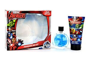 Avengers - Box With Eau De Toilette And Shower Gel Bath Foam original marvel