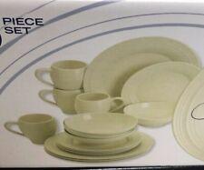 Mikasa Swirl Cream Set Includes 14-Pieces Dinnerware