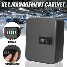 Wall Mount Password Combination Key Lock Box Safe Security Storage Case 20 Tag