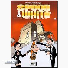 Spoon & White 2 il silenzio delle belämmerten umorismo FUNNY COMIC Simon leturgie