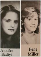 Jennifer Jason Leigh Senior High School Yearbook Penelope Anne Miller 11th Grade