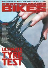 'Ultimate Tyre Test' Performance Bikes Magazine 2001 - Azaro D207 Rennsport EVO