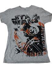 Disney Parks Hanes Men's T-Shirt Tee STAR WARS Join Resistance Size (M) Medium