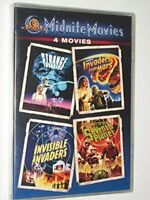 Strange Invaders/Invaders From Mars/Invisible Invaders/Seventh Planet (DVD)