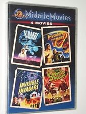 Strange Invaders/Invaders From Mars/Invisible Invaders/Seventh Planet [DVD]