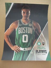 Boston Celtics Cavaliers NBA Game 7 SGA JAYSON TATUM POSTER with ROSTERS ON BACK