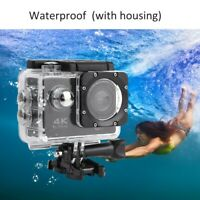 2 Inch 4K HD Video Action Camera Camcorder with Waterproof Case Extension Kit