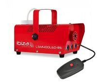 IBIZA LSM-400LED 400 W Mini Nebbia Fumo Macchina Con Luci Ambra + Da Discoteca DJ Remoto