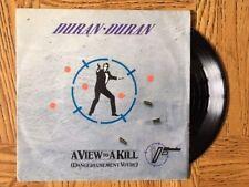 """DURAN DURAN """"A View To A Kill (Dangereusement Votre)"""" JAMES BOND 45 Tours SP"""
