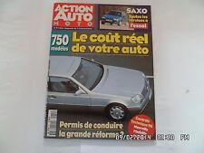 ACTION AUTO MOTO N°22 03/1996 SAXO HONDA ACCORD AUVERLAND A3 LOTUS ELISE     F33