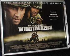 Cinema Poster: WINDTALKERS 2002 (Quad) Nicolas Cage Adam Beach Peter Stormare
