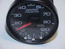 "Spek Pro Black Face Water Pressure Gauge 0-120 PSI   2 1/16"" JH9"