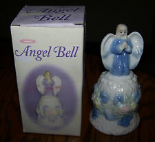 "ANGEL BELL - 5"" Tall - Ceramic - Exquisite - NIB!"
