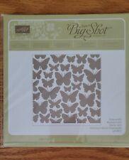 Stampin Up Textured Impressions FLUTTERING Impression Folder Butterflie  Retired