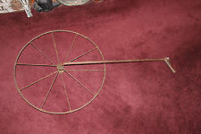 Antique Surveyor Rolatape Measuring Wheel-Country Decor Wheel-LQQK-Americana