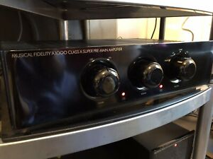 Musical Fidelity A1000 Amplifier