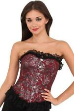 Unbranded Spandex Lace Up Basques & Corsets for Women
