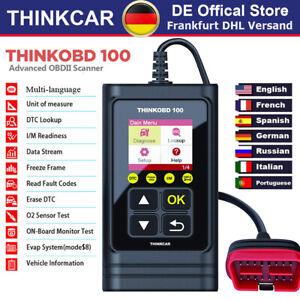 2021 ThinkOBD100 Profi KFZ OBD2 Diagnosegerät Auto Scanner Fehler Auslesegerät