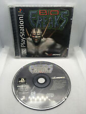 Bio Freaks - Complete CIB - Very Good Cond. - Playstation 1 PS1 PSX