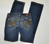Buckle BKE Denim Sabrina Boot Cut Jeans Size 27 Women's Bootcut stretch HEMMED