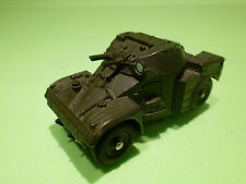 DINKY TOYS 814 ARMY AML PANHARD - 1:52 - RARE SELTEN - GOOD CONDITION