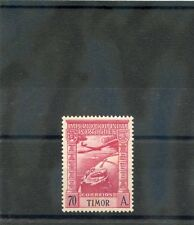 TIMOR Sc C8(SG 277)**VF NH 1938 70A CARMINE AIR POST, HI VALUE, $45