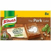 Knorr The Pork Cube Stock Cubes (8 x 10g) British