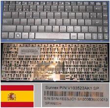 Clavier Qwerty Espagnol MSI X300 X340 X400, V103522AK1 S1N-1EES2C1-SA0 Noir
