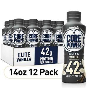 Fairlife Core Power Elite High Protein Shake 42G | Vanilla | Pack of 12