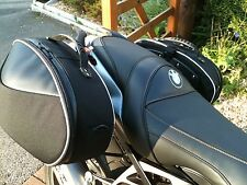 BMW K1300 R/S panniers by Krauser. Street Softbags with full fitting kit Fit All