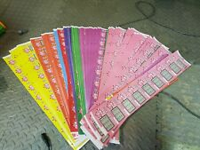 9 x  Lucky pig Fake Scratch Cards choose your colour. Each card is a winner £50k