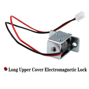 Long Upper Cover Electromagnetic Lock Used For Switch Lock of Small Cabinet Door