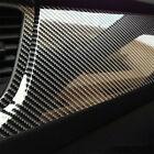 "12x60"" Carbon Fiber Vinyl Film Car Interior Wrap Stickers Auto Parts Accessories"