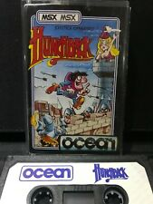 MSX Computer Game - HUNCHBACK  - Rare, Working.