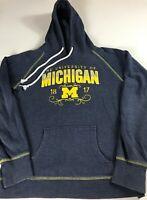 Michigan Wolverines Hoodie Womens Medium Student Alumni Sweatshirt Long Sleeve