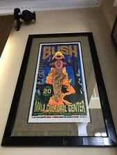 BUSH - Chuck Sperry Tour Concert Lithograph Poster Autographed / Signed by Band!