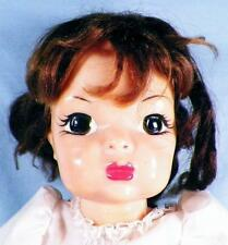 Terri Lee Doll Hard Plastic 16in. Brown Saran Hair Jointed Vintage