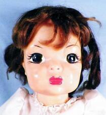 Terri Lee Doll Hard Plastic 16in. Brown Saran Hair Jointed Vintage